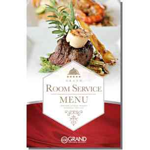 Thumbnail image of Grand Sierra Resort and Casino Room Service Menu