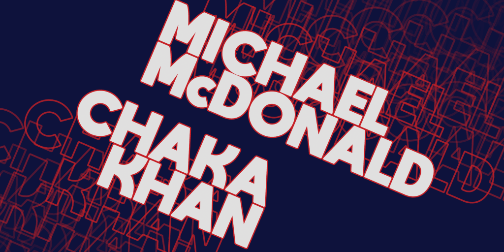 Michael McDonald & Chaka Khan