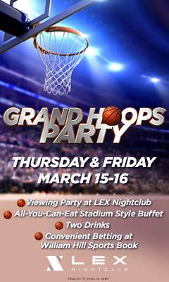 Graphic for Grand Hoops Party