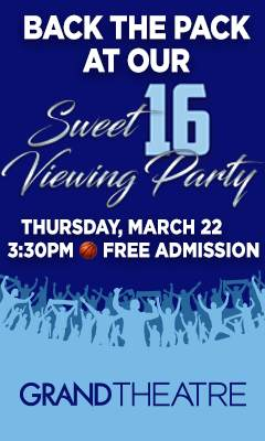 Graphic for Wolf Pack Sweet 16 viewing party