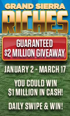 Graphic for Grand Sierra Riches giveaway
