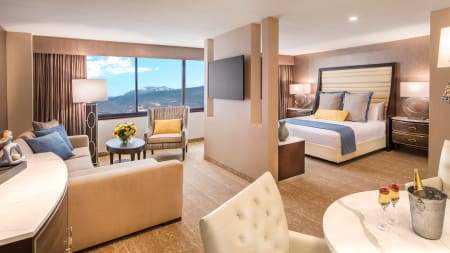 Luxury Hotel Rooms Suites In Reno Grand Sierra Resort