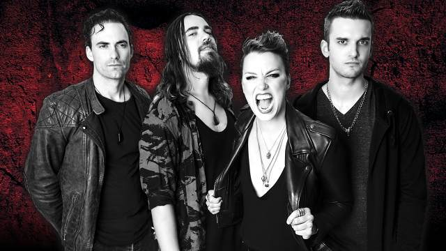 Promotional photo of Halestorm