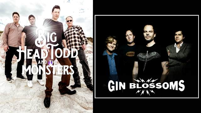 Promotional photo of Big Head Todd and Gin Blossoms