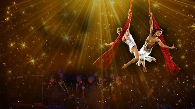 Promotional image for Cirque Cirque de la Symphonie with the Reno Phil