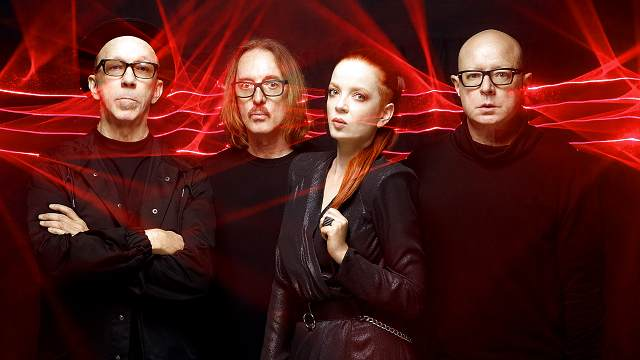 Promotional photo for Garbage