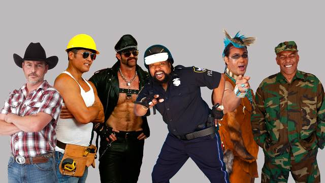 Promotional photo of Village People