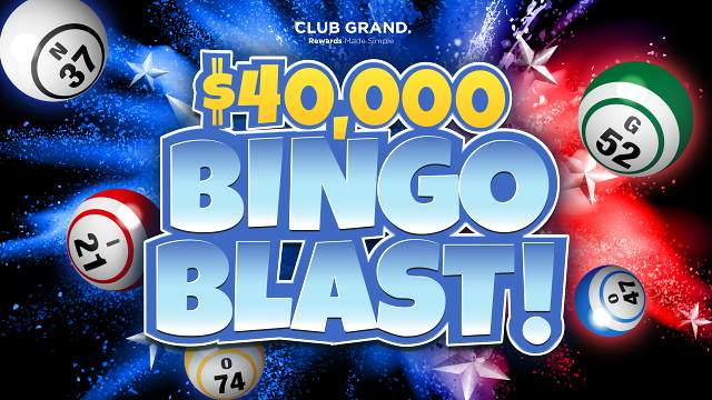 Graphic for $40k Bingo Blast tournament