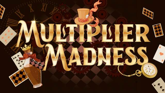 Graphic of Multiplier Madness promotion
