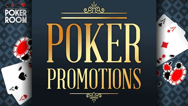 Poker Promotions graphic logo on a black background