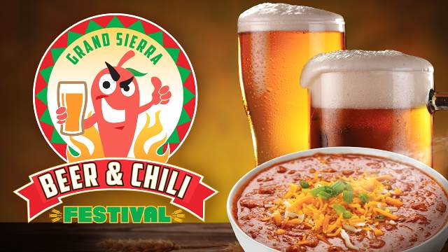 Promotional poster of the Grand Sierra Beer and Chili Festival