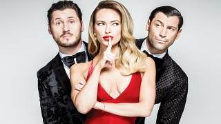 Promotional photo of dancers Maks, Val and Peta