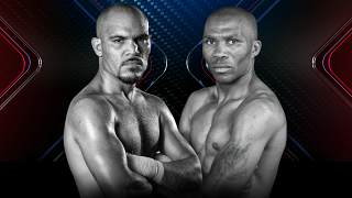 Promo photo of boxers Beltran and Moses