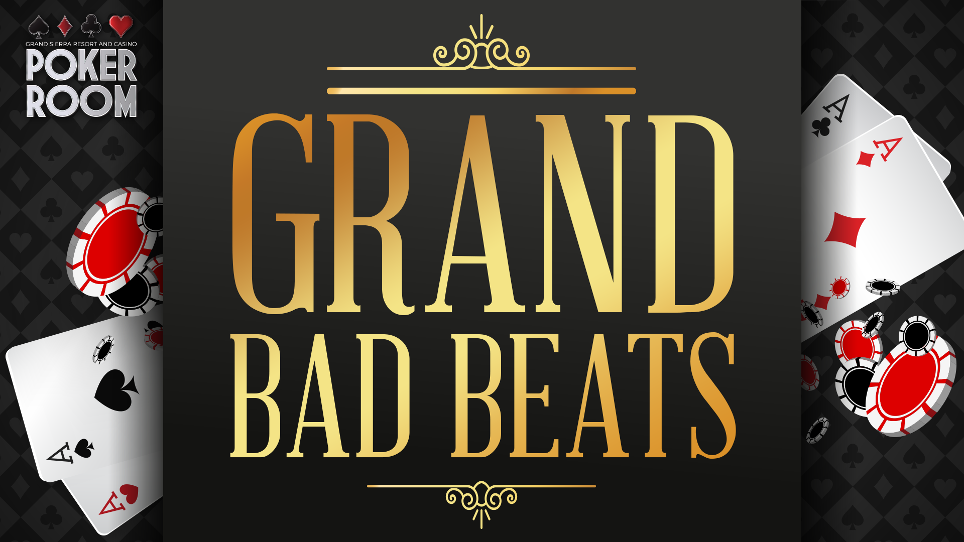 Grand Bad Beats graphic logo on black background