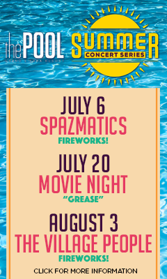 Summer Concert Series at The Pool