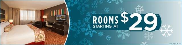 Rooms Starting at $29