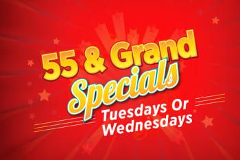 55 & Grand Specials